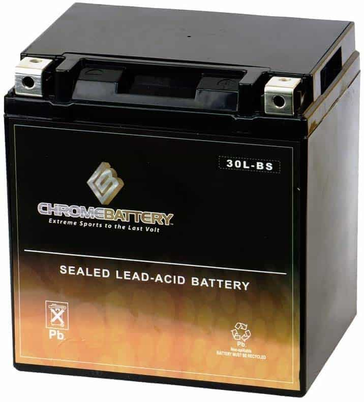 Chrome_Battery_YTX30L_BS_AGM_Motorcycle_Battery