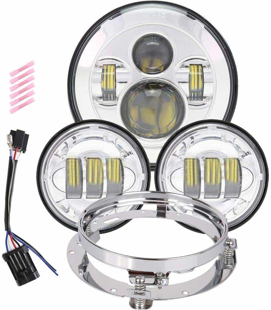 TRUCKMALL_7_inch_LED_Headlight_Fog_Passing_Lights_DOT_Kit