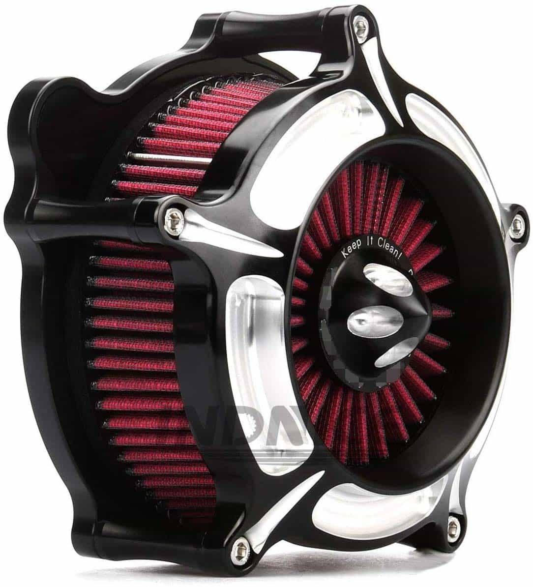 Turbine_Black_Edge_Cut_harley_Air_Cleaner_street_glide_air_filter