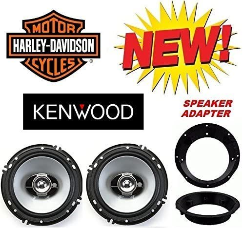96-2013 Kenwood Speaker Package with Adapter Rings