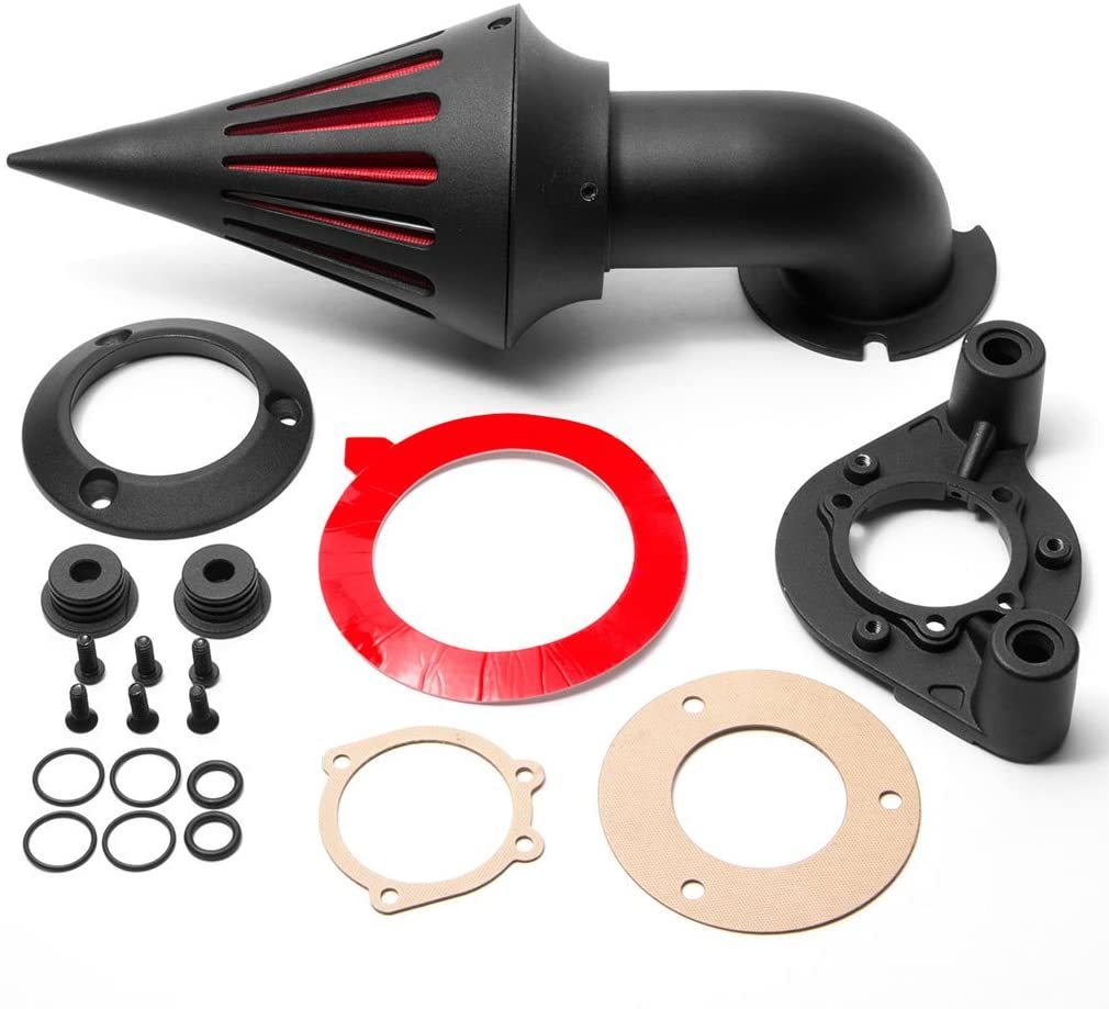 Krator Black Spike Air Cleaner Intake Filter For Harley Davidson XL Models