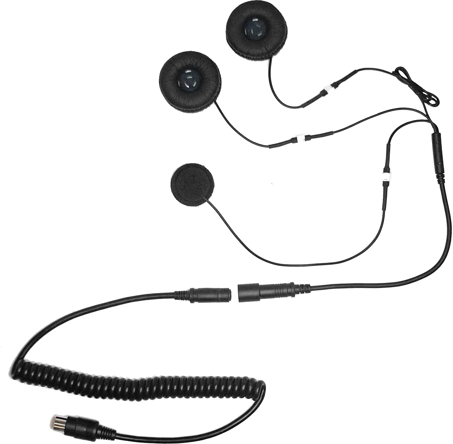 iMC Motorcom HS-H110P Headset for 7 Pin Harley Davidson Audio Systems