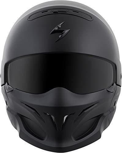 ScorpionExo Covert Unisex-Adult Matte Black Helmet