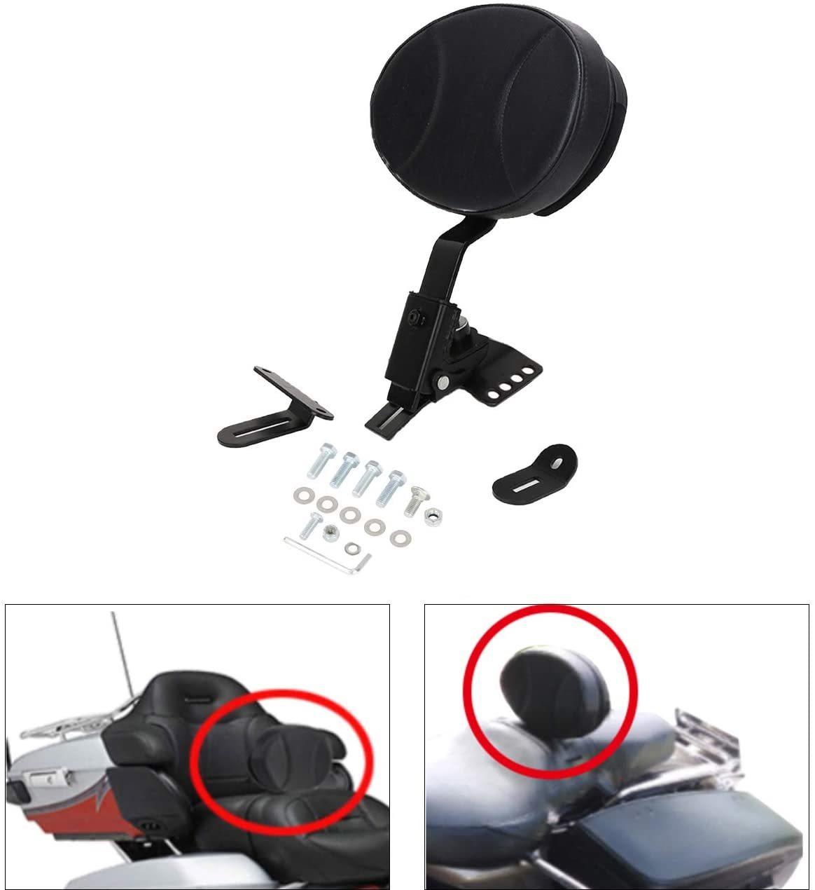 AUFER-Adjustable-Plug-in-Rider-Backrest-Custom-Fit-for-Harley