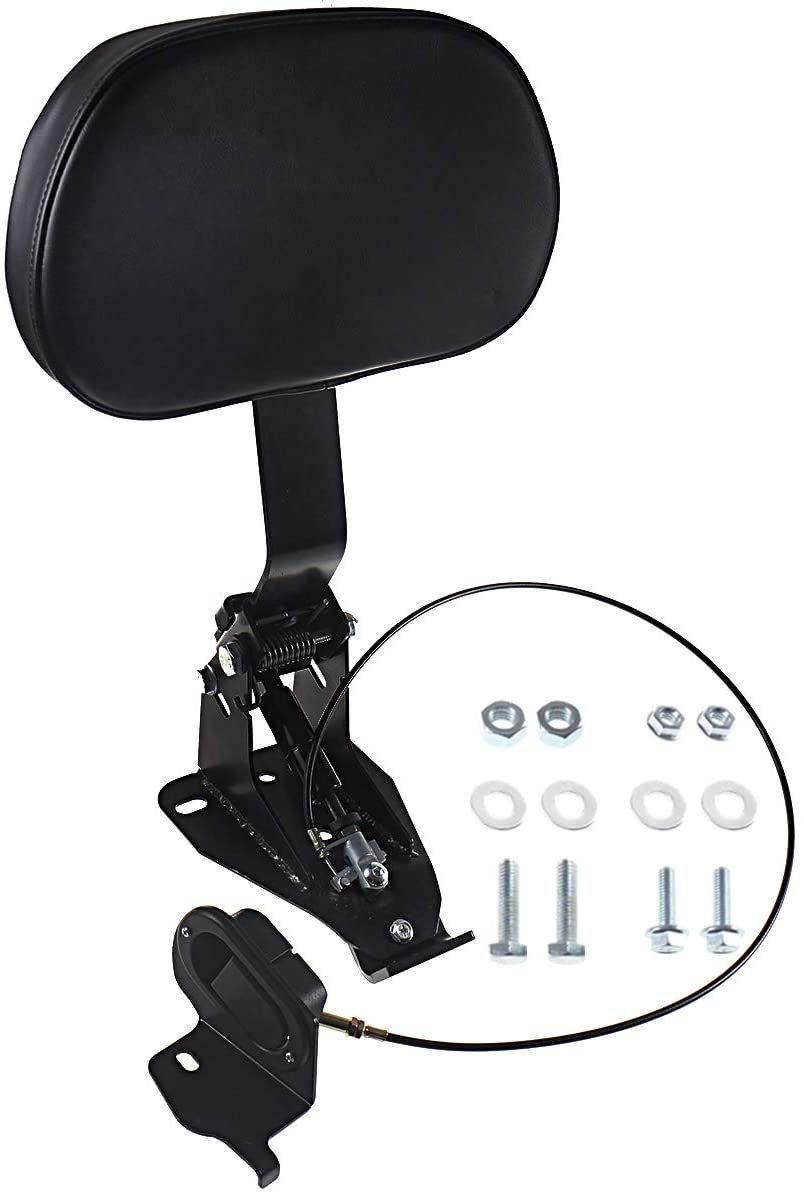Adjustable-Driver-Backres-With-Mount-For-Harley-Touring-Street-Glide-Road-King