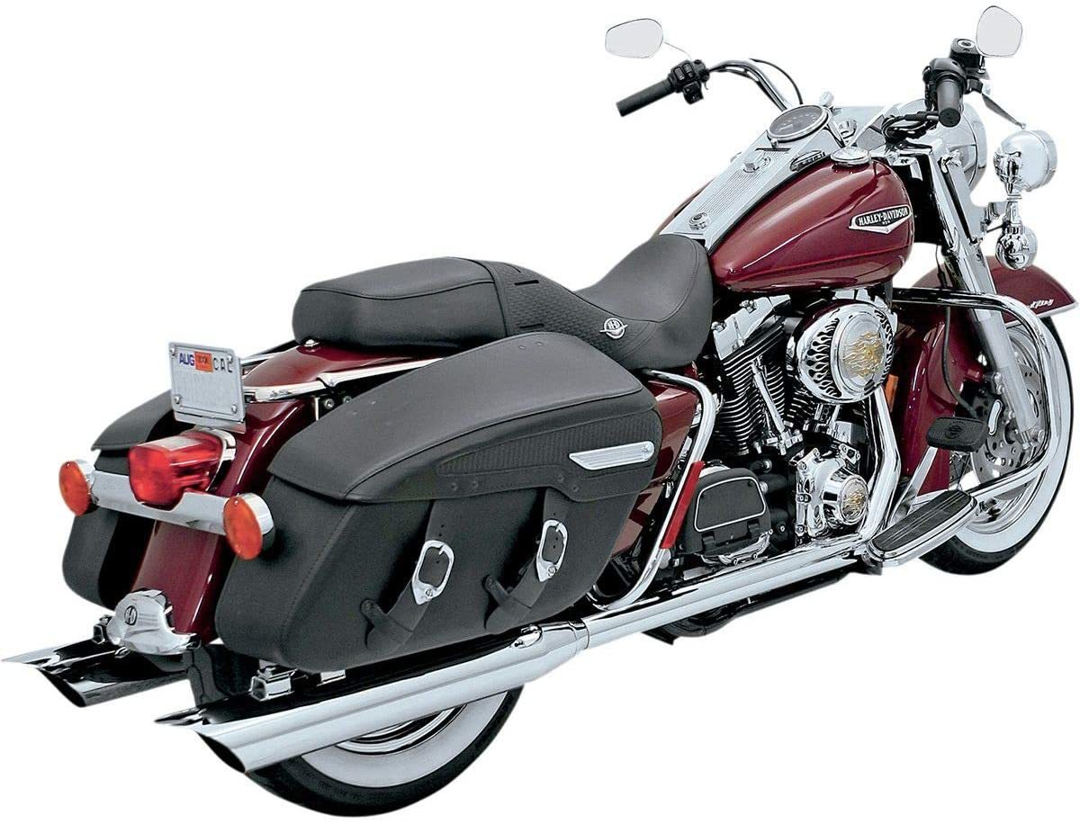 Bassani-Xhaust-True-Dual-Crossover-Headpipes-(Chrome)-for-06-16-Harley-FLHX2