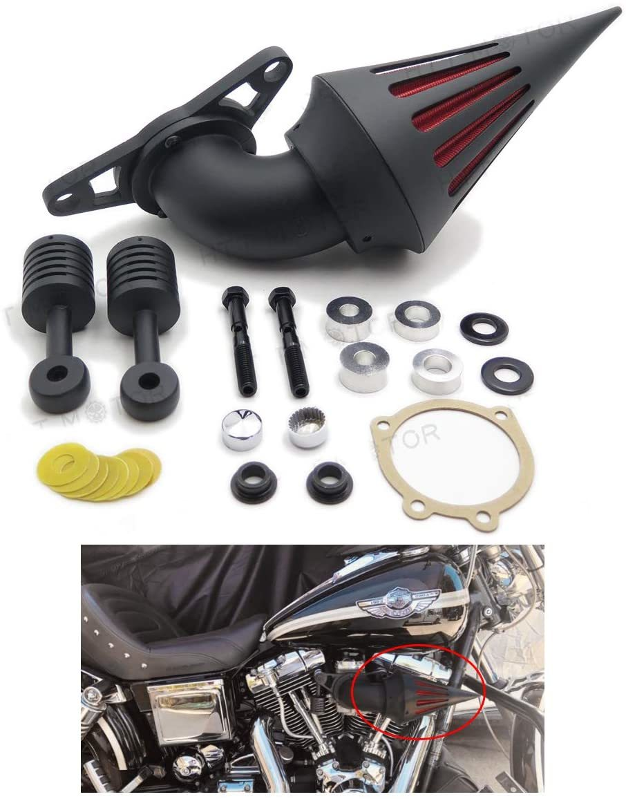 HTTMT-MT226-BK-Black-Air-Cleaner-Kits-for-Harley-Low-Rider