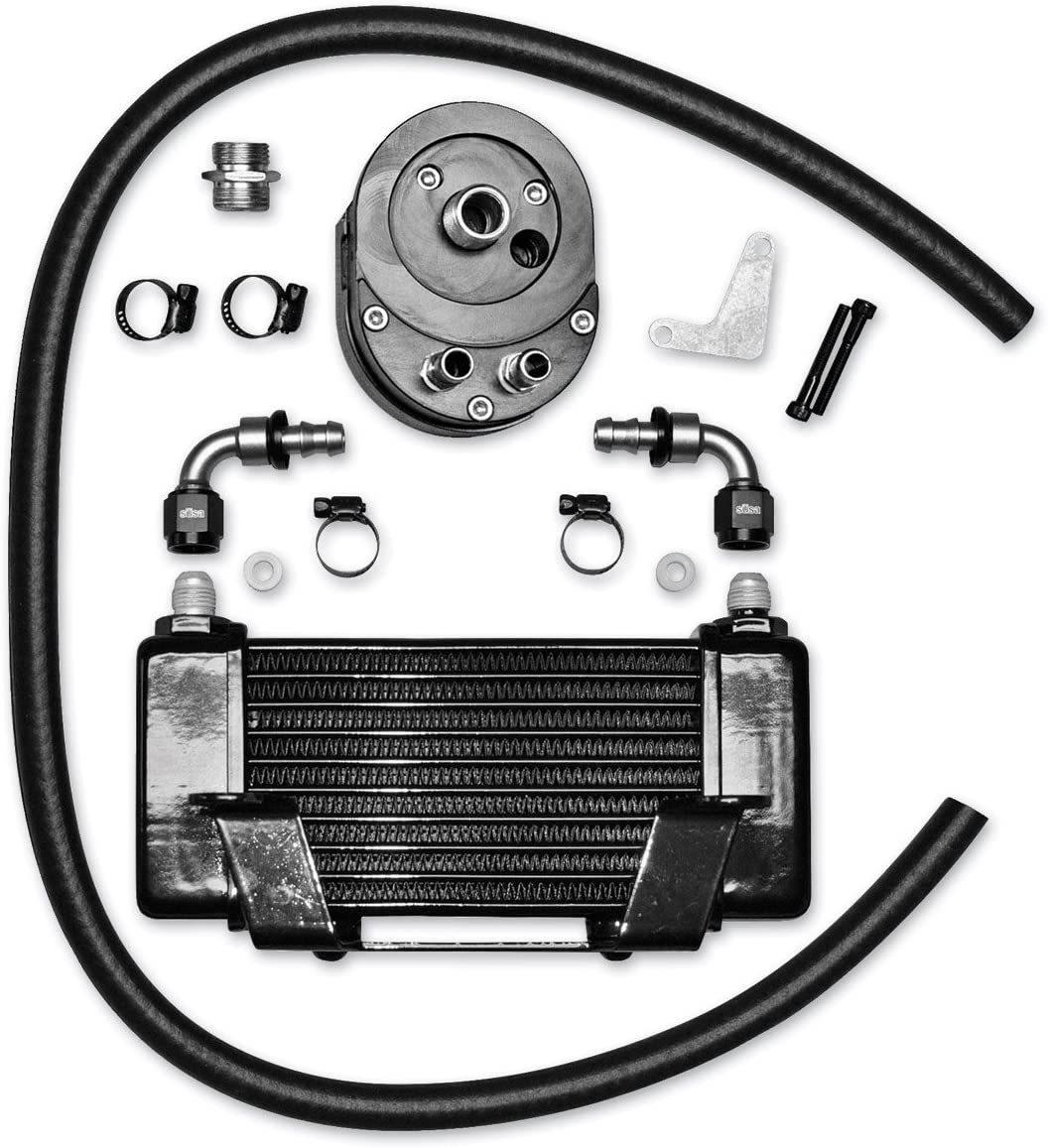 Jagg-Horizontal-Low-Mount-Oil-Cooler-Kit-for-Harley