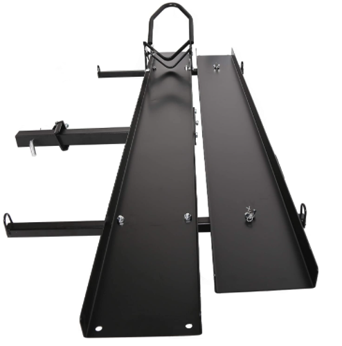 ECOTRIC Black Steel Motorcycle Carrier